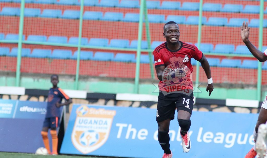 Mucureezi promises 'greater moments' after being crowned Vipers Fans' Player of the season