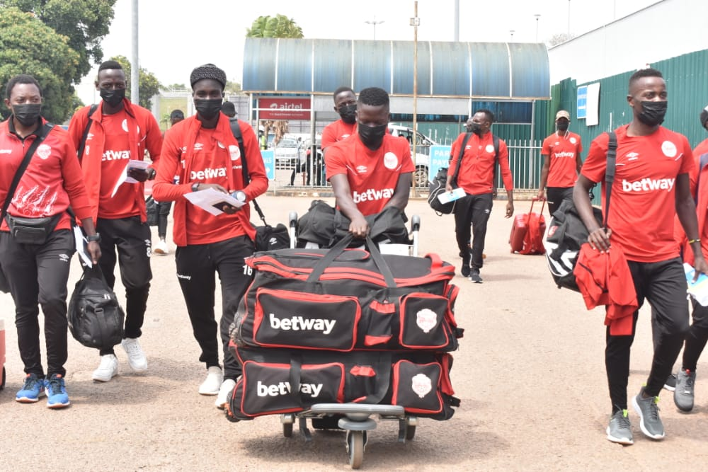 Pictorial: Express spick and span as they leave for CECAFA Kagame Cup